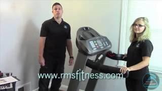 RMS Landice Treadmill Motor Drive Belt Adjustment