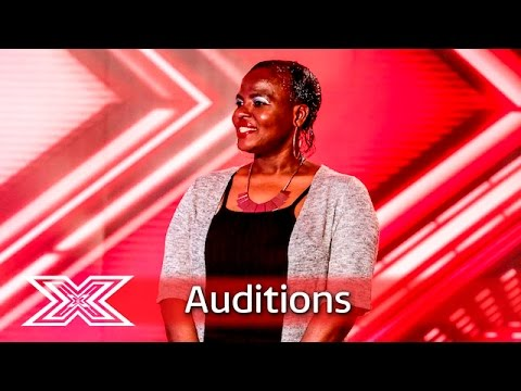 Abiola Allicock gives Simon the giggles | Auditions Week 1 | The X Factor UK 2016