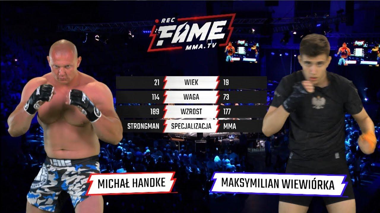 "FAME MMA 1: Michał Handke vs Maksymilian ""Wiewiór"" Wiewiórka (Cała Walka) #1"