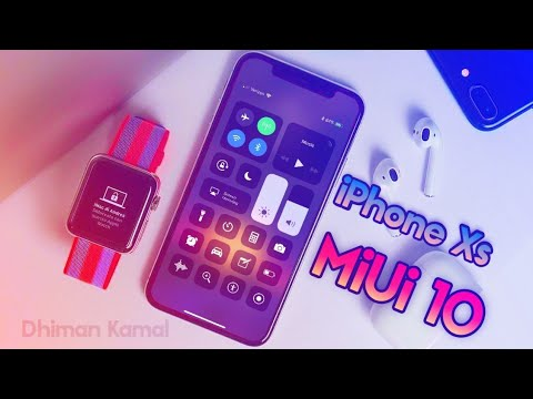 iPhone Xs/Xs Max Theme For MiUi 8/9/10 | iOS 12 Theme For MiUi 🍏