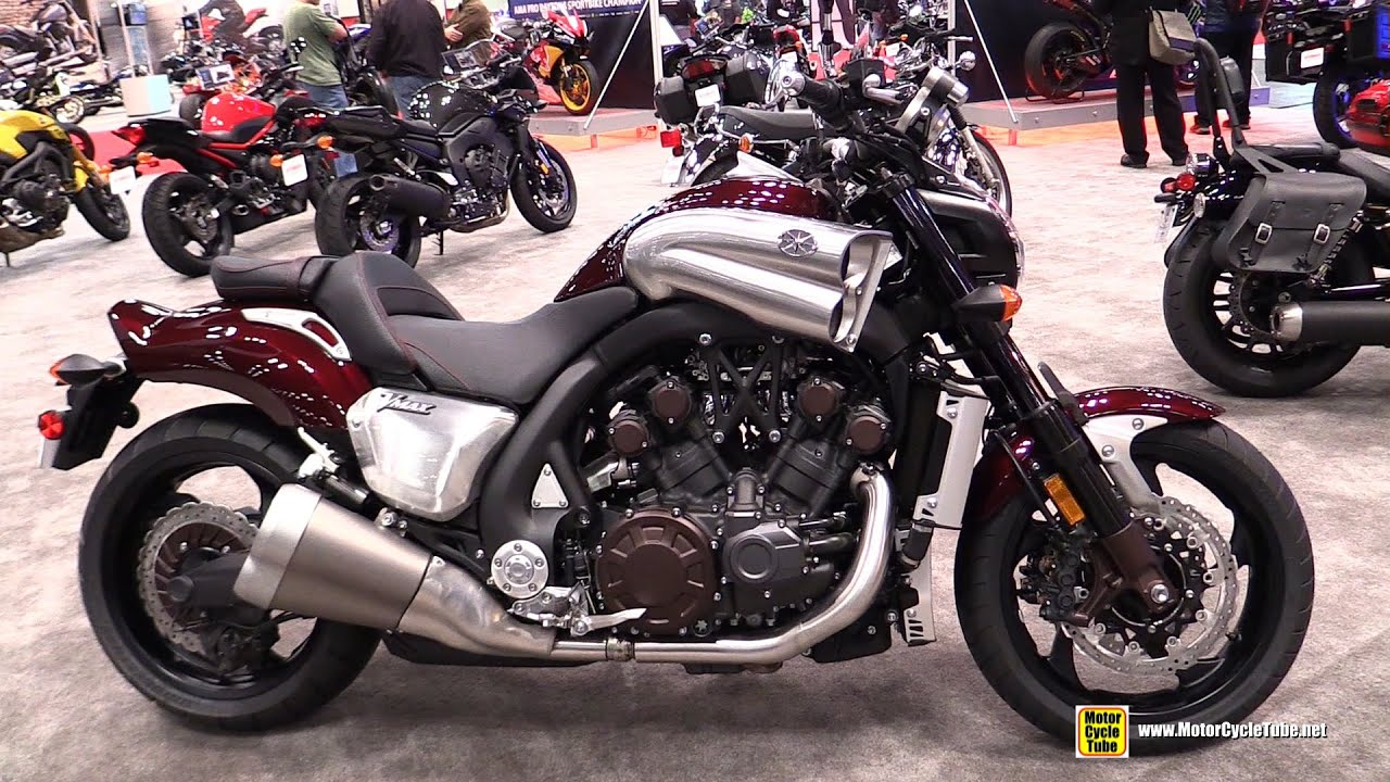 Yamaha Vmax Carbon Infra Red Edition A 1700 CC Mechanical Devil Unleased