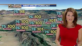 Hot weather in the Valley