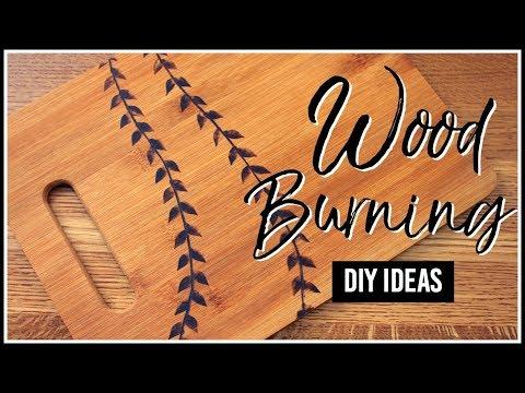 Wood Burning Diy Ideas Youtube
