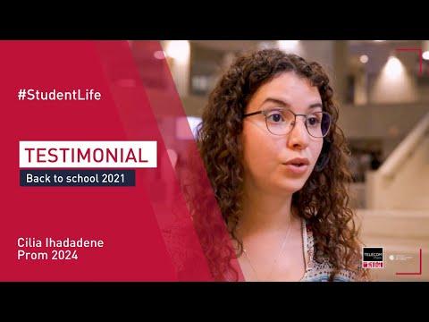 [Back to School 2021] Cilia Ihadadene testimonial (Eng subtitles)