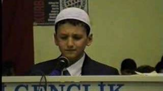 By Amazing Kid and His Amazing Voice QURAN Recitation