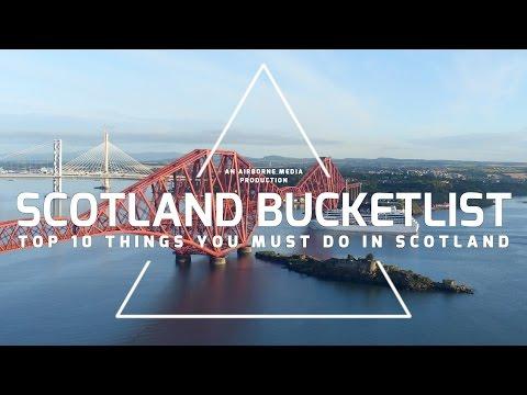 Scotland Bucketlist Top 10
