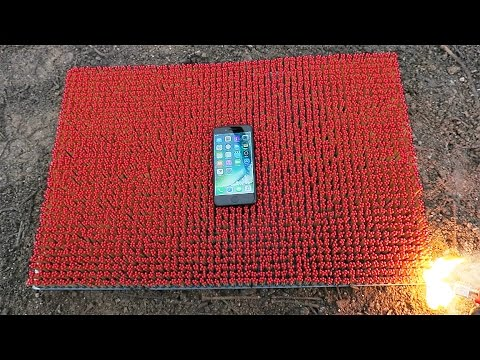 IPHONE 7 OVER 10 000 MATCHES! Amazing Chain Reaction
