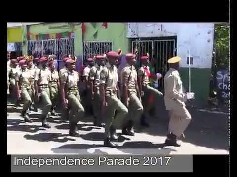 Grenada's Independence Military Parade 2017