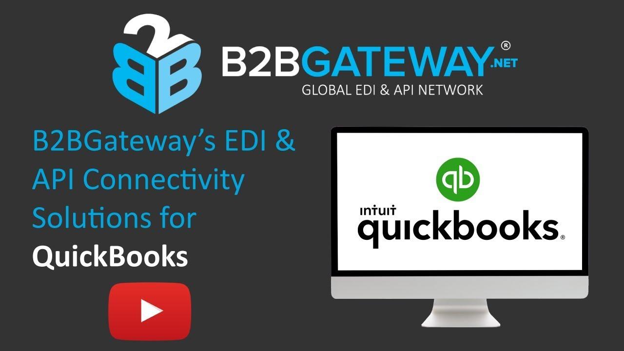 EDI for Quickbooks Online | B2BGateway