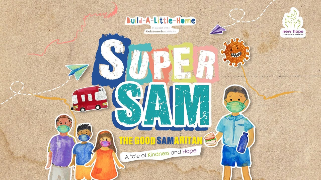 Super Sam story by New Hope Community Services