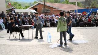 Armutlucuma 23 Nisan Etkinlikleri Kör Topal Oyun Skeci