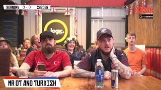 Germany 2-1 Sweden | Live World Cup Watch Along With Mr DT & Turkish
