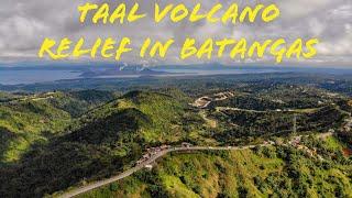 Taal Volcano relief in Batangas