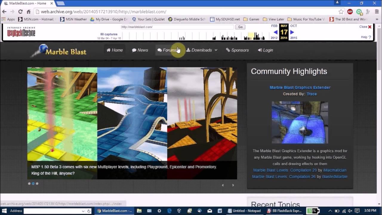 Marble blast gold free download (v1. 4. 1) « igggames.