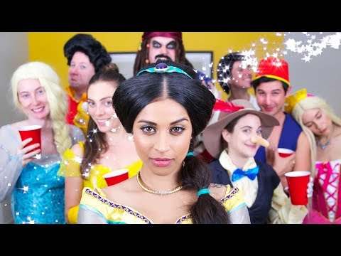 Download Youtube: Disney Character House Party | Lilly Singh