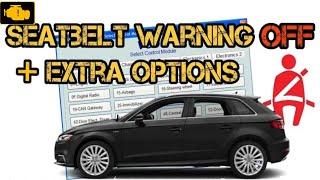 VCDS Seat belt warning off + extra / Wyłączenie przypomnienia o niezapiętych pasach Vcds