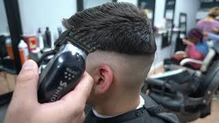 Real Perfect Fade iฑ 5 Minutes   How to Cut men's Hair   Professional Tutorial