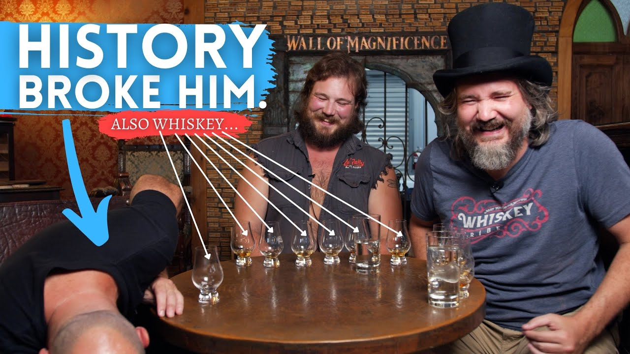Whiskey BLUFF vs History BUFF (We exceeded our chest hair budget on this one...)