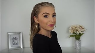 Aveda How-To | Emily Elizabeth Wet Hair Look Tutorial