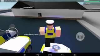 Roblox UK police car
