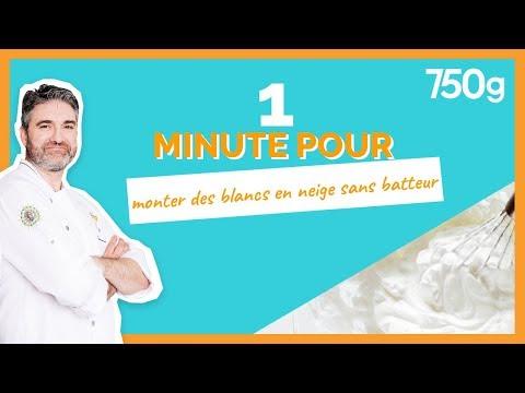 1 Min Pour... Monter Des Blancs En Neige Sans Batteur - 750g
