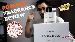 Bal D'Afrique by Byredo Fragrance Review (2009)