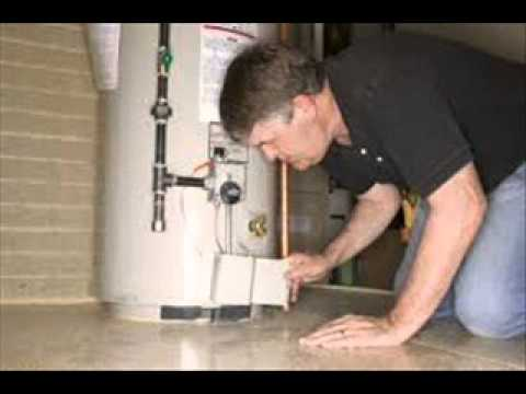 water heater leaking from bottom - YouTube