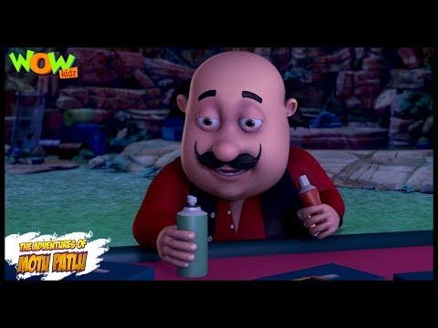 Motu Patlu New Episodes  Cartoons  Kids  John Ki Sun Cream  Wow Kidz