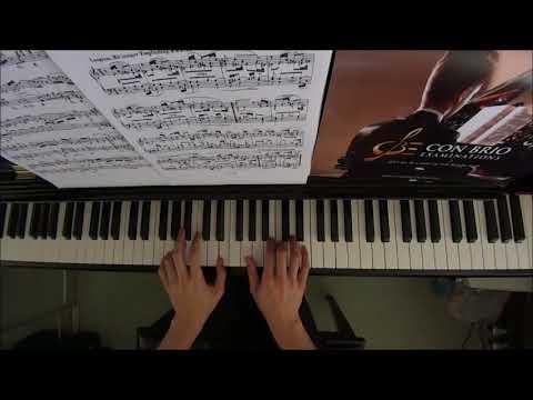 Con Brio Exam (CBE) Grade 5 Schumann Op.68 No.34 Theme Performance