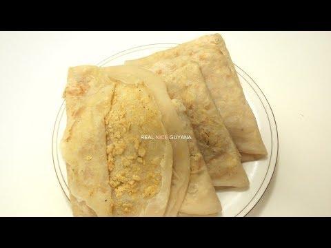 Guyana, Caribbean Dhal Puri, step by step Video Recipe  (HD)