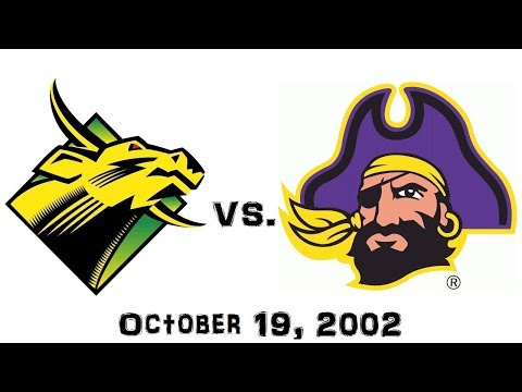 October 19, 2002 - South Florida Bulls vs. East Carolina Pirates Full Football Game