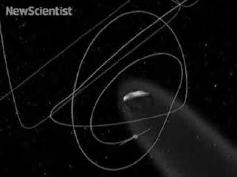 How the Rosetta spacecraft will orbit a comet