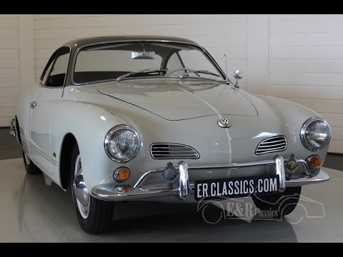 Volkswagen Karmann Ghia Coupe Old Type Small Lights 1965 Video Www Erclics