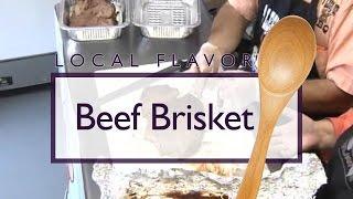 Beef Brisket With 4 Legs Up Bbq