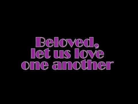 Beloved let us love one another Lyrics
