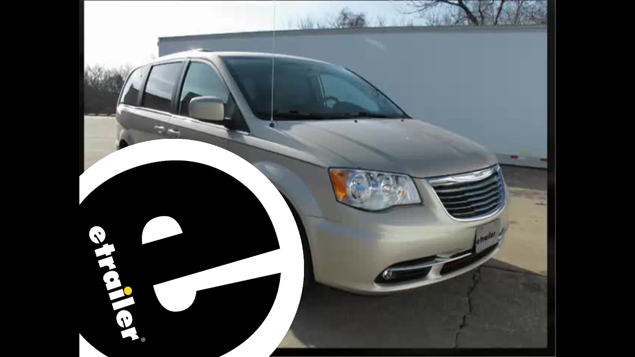 Installation Of A Trailer Wiring Harness On 2013 Chrysler Town And Way Vehicle End Connector Diagram Etrailercom Country
