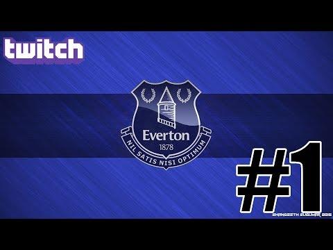 Fm 2018 Twitch Kariyeri Everton #1 | Kariyerler ,Çekiliş ,Sohbet,Muhabbet |