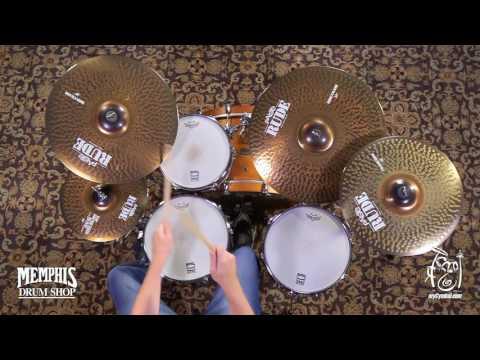 Paiste Rude Cymbal Set 14/20/22 + Bonus 18 Cymbal (112BS18-1062217E)