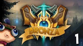 CHALLENGER O BRONZA? Episodio 1 (League of Legends) Bronze Moments