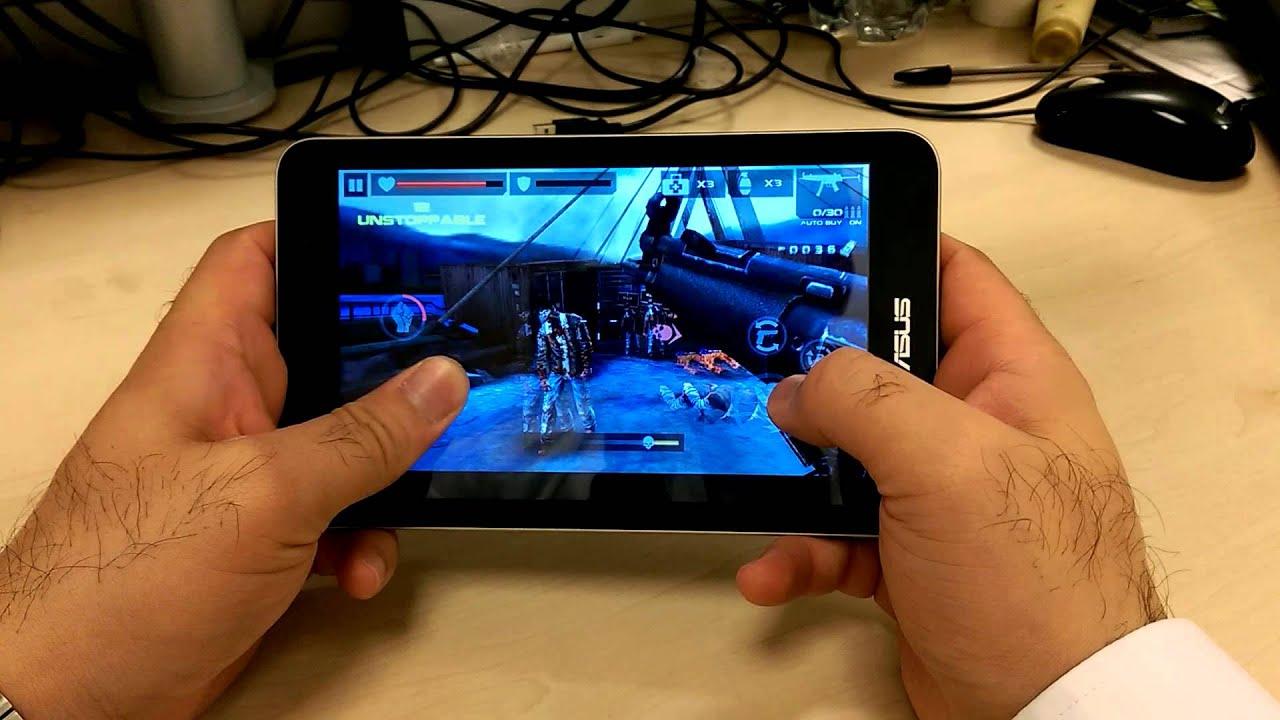 Asus MEMO Pad 7(ME176CX) - Gaming Performance