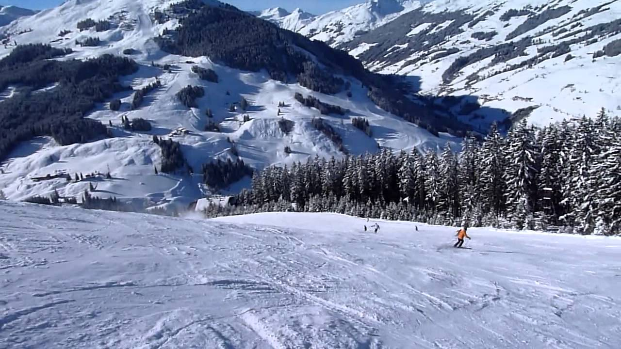 At Saalbach Hinterglemm Schattberg West Youtube