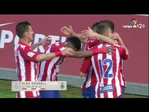 Resumen de Girona FC vs Getafe CF (5-1)