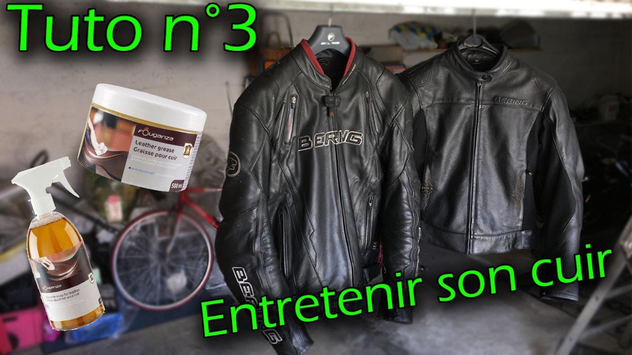 Comment laver un blouson en cuir de moto