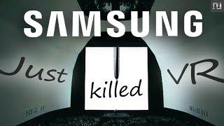 How Samsung Killed The GEAR VR.