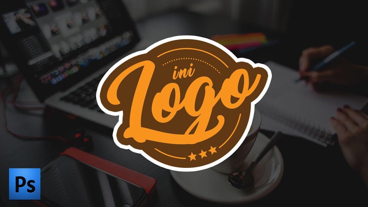Cara Membuat Desain LOGO Keren di Photoshop ( Pemula ...