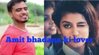 Amit Bhadan and priya prakash varrier