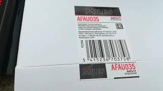 Обзор фильтра MILES AFAU035 И FILTRON OE673