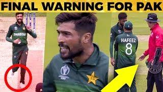 அத்துமீறிய Pak வீரர் எச்சரித்த Umpire பரபரப்பு காட்சிகள் | Ind vs Pak | World Cup 2019