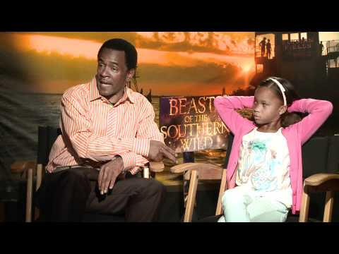 Beasts Of The Southern Wild Exclusive: Dwight Henry And Quvenzhané Wallis