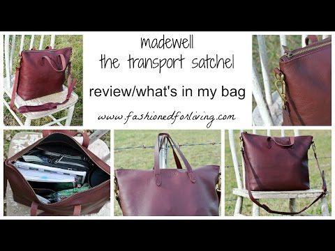 Fashioned For Living Review Madewell Zip Transport Tote The Satchel